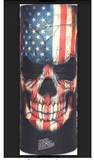 AMERICAN FLAG FACE MULTI FUNCTION SEAMLESS BANANA WRAP ( sold by the piece or dozen )