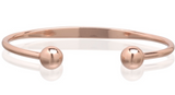 MAGNETIC CUFF w ball PURE COPPER BRACELET  (sold by the piece )