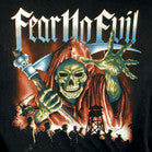 FEAR NO EVIL GRIM REAPER TEE-SHIRT LARGE ONLY (Sold by the piece)