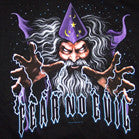 FEAR NO EVIL WIZARD BLACK SHORT SLEEVE TEE SHIRT (Sold by the piece) -* CLOSEOUT $2.50 EA