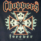 FOUR SKULL CHOPPERS BLACK * LONG SLEEVE* TEE-SHIRT (Sold by the piece) *- CLOSEOUT NOW AS LOW AS  $1.95 EA
