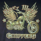 CHOPPERS HEAVY METAL BIKE BLACK SHORT SLEEVE TEE-SHIRT (Sold by the piece)