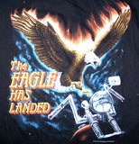 EAGLE HAS LANDED SHORT SLEEVE TEE SHIRT (Sold by the piece) *- CLOSEOUT AS LOW AS $ 2.50 EA