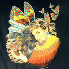 BUTTERFLY LADY TEE-SHIRT (Sold by the piece)