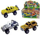 DIECAST METAL SAFARI toy TRUCKS (Sold by the dozen) *- CLOSEOUT NOW 75 CENTS EA