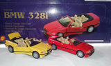 BMW 328i DIE CAST CARS (sold by the display)