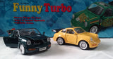 FUNNY TURBO PULL BACK DIE CAST CARS (sold by the display)