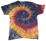 GALAXY SWIRL TYE DYE TEE SHIRT (Sold by the piece)