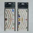 NECKLACE TEMPORARY TATTOO'S (Sold by the dozen) -* CLOSEOUT NOW ONLY 25 CENTS