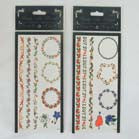 WAIST & BELLY BUTTON TEMPORARY TATTOO'S (Sold by the dozen) -* CLOSEOUT NOW ONLY 25 CENTS EA