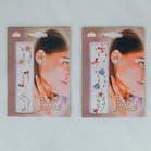 EARRINGS  CRYSTAL JEWEL  TATTOO'S (Sold by the dozen) -* CLOSEOUT ONLY 50 CENTS EA