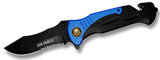 JUMBO SIZE 11 INCH US AIRFORCE MILITARY FOLDING KNIFE ( sold by the piece )