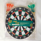 REAL DART BOARD WITH DARTS (Sold by the dozen)