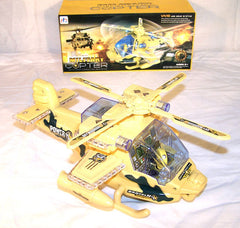 BUMP AND GO MILITARY HELICOPTER ( sold by the piece )  -* CLOSEOUT NOW ONLY $5 EA