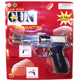 45 MAGNUM SILVER DIECAST 8 SHOT CAP GUN ( sold by the piece )