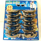 KIDS POLICE WRAP AROUND SUNGLASSES (Sold by the dozen)
