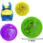 11 INCH FLYING DISC (Sold by the dozen) -* CLOSEOUT NOW ONLY $1.00 EA