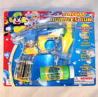 SEE THRU TRANSPARENT BUBBLE GUN (Sold by the piece)