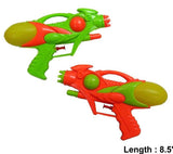 LARGE 8 1/2 INCH OUTER SPACE SQUIRT GUN (Sold by the dozen)  -* CLOSEOUT NOW ONLY $1 EA