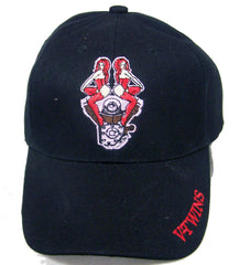 V TWINS GIRLS EMBROIDERED BASEBALL HAT (Sold by the piece) -* CLOSEOUT ONLY $1.25 EA