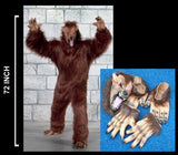ADULT SIZE WEREWOLF COMPLETE SUIT (Sold by the piece) -* CLOSEOUT $65.00