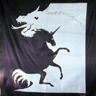 DRAGON UNICORN COLLISION 45 IN WALL BANNER (Sold by the piece) -* CLOSEOUT $2.00 EA