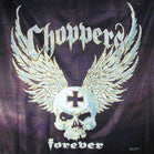 CHOPPERS FOREVER CLOTH WALL BANNER (Sold by the piece)