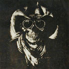 REBEL COWBOY SKULL WALL BANNER (Sold by the piece)