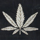 POT LEAF CLOTH WALL BANNER (Sold by the piece)