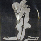 FLAMING LOVE CLOTH WALL BANNER  (Sold by the piece)