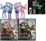 LIGHT UP KILLER WHALE BUBBLE GUN WITH SOUND (sold by the piece ) *- CLOSEOUT NOW $ 3.95 EA