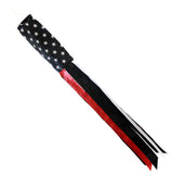 USA RED THIN LINE fire fighter 60 INCH WINDSOCK ( sold by the piece )