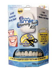 BLUE BOX TEMPORARY TOOTH INSTANT SMILE KIT ( sold by the piece )