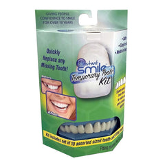 GREEN BOX TEMPORARY INSTANT SMILE TEETH REPLACEMENT KIT ( sold by the piece )