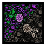 DELUXE TRIBAL ROSE BANDANA (Sold by the piece or dozen)