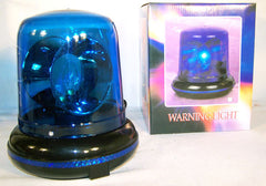 BLUE COLOR ROTATING BLINKER BEACON COP LIGHT (Sold by the piece) CLOSEOUT NOW ONLY $5 EA