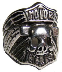 HOGG / PIG MOTOR CYCLES DELUXE BIKER RING   (Sold by the piece) *