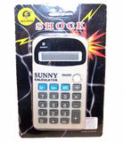 SHOCKING CALCULATOR (Sold by the dozen)