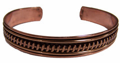 PURE COPPER CUFF BRACELET STYLE # SS (sold by the piece or dozen )