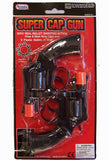DUEL 38 SPECIAL PLASTIC 8 SHOT CAP GUNS ( sold by the dozen ) -* CLOSEOUT NOW $1  EA