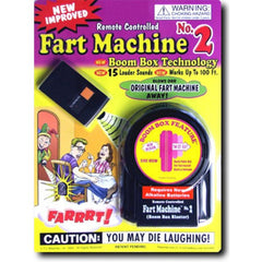 REMOTE CONTROL FART MACHINE 2 (Sold by the piece)