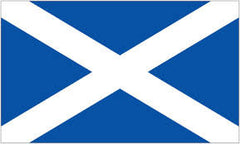 SCOTLAND COUNTRY 3' X 5' FLAG (Sold by the piece) CLOSEOUT $ 2.95 EA