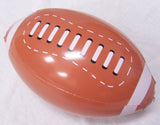 FOOTBALL INFLATABLE 12 INCH BALLS ( sold by the dozen ) CLOSEOUT NOW ONLY 50 CENTS EA