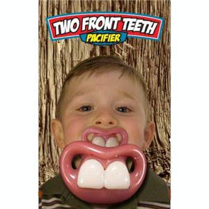 Two Front Teeth Billy Bob Toddler Pacifier Sold By The