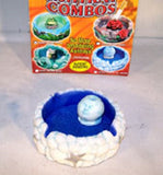 BLUE MOON FACE LARGE BUTTHEAD SMOKELESS ASHTRAY (Sold by the piece) -* CLOSOUT ONLY $ 2 EA