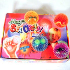 MAGIC SEA URCHIN SQUUEZE BALL (Sold by the dozen) *- CLOSEOUT NOW ONLY 25 CENTS EA