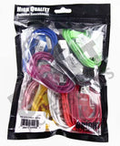 IPAD IPHONE 3. 3G. 4. 4G PHONE CHARGER ACCESSORY ( sold by the bag of 10 pieces ) -* CLOSEOUT ONLY $ ..75 CENT  EA