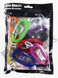 IPHONE 5 AND 6, 7   CABLE PHONE CHARGER  ACCESSORY ( sold by the PIECE OR bag of 10 pieces )