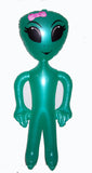 GIRL ALIEN INFLATABLE 63 INCH  (Sold by the piece or dozen)