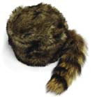 ADULT SIZE RACCOON TAIL HATS (Sold by the piece)
